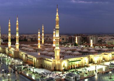 صورة خلفية شاشة المسجد النبوي المدينة المنورة Islamic Wallpapers - صور خلفيات عالية الدقة HD Wallpapers