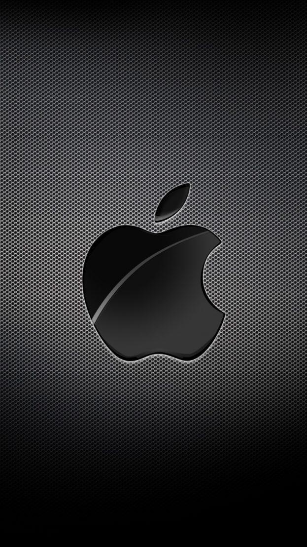 Apple Mac Brand Logo Dark خلفيات ايفون iPhone 6, iPhone 7, 750x1334 - صور خلفيات عالية الدقة HD Wallpapers