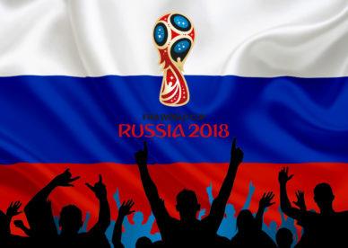 صور كأس العالم في خلفيات علم روسيا 2018- خلفيات فور يو